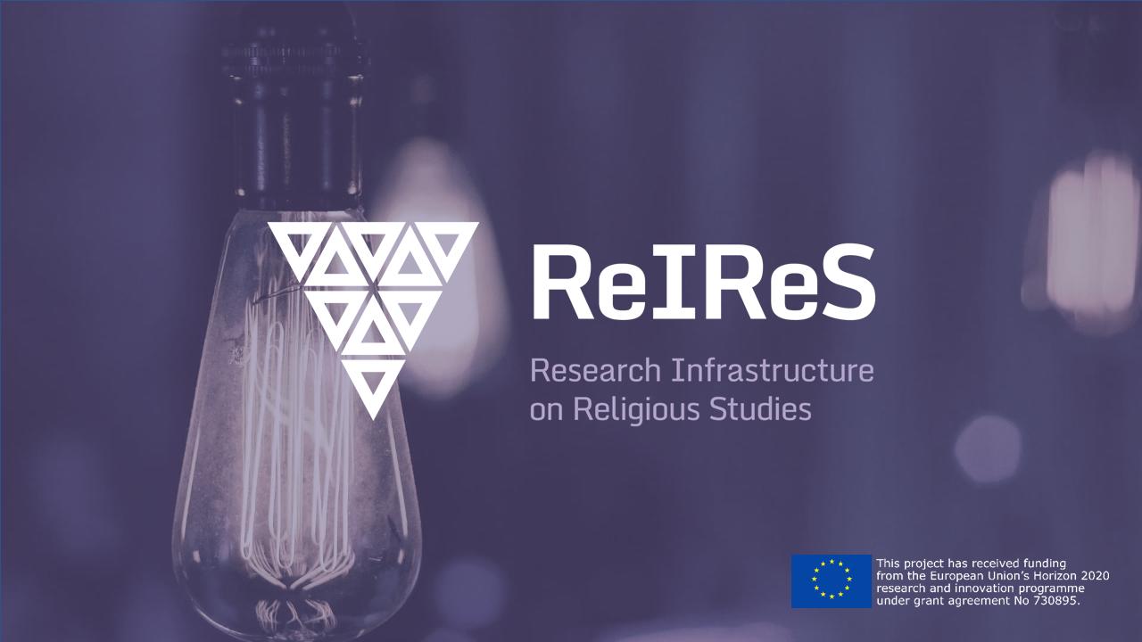 ReIReS Presentation