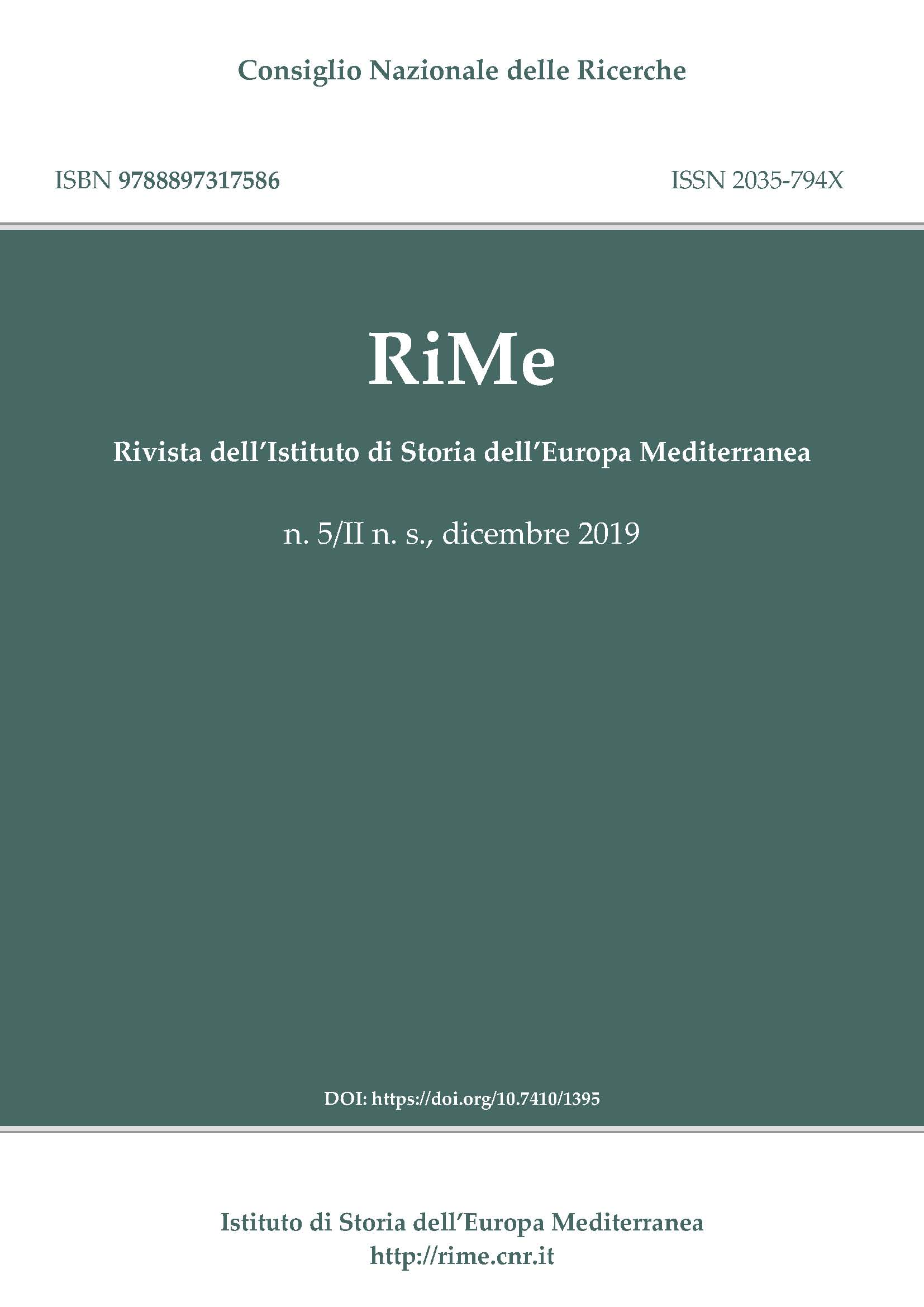 Special Issue RiMe on Religious Culture and Education in 20th and 21st Century Europe