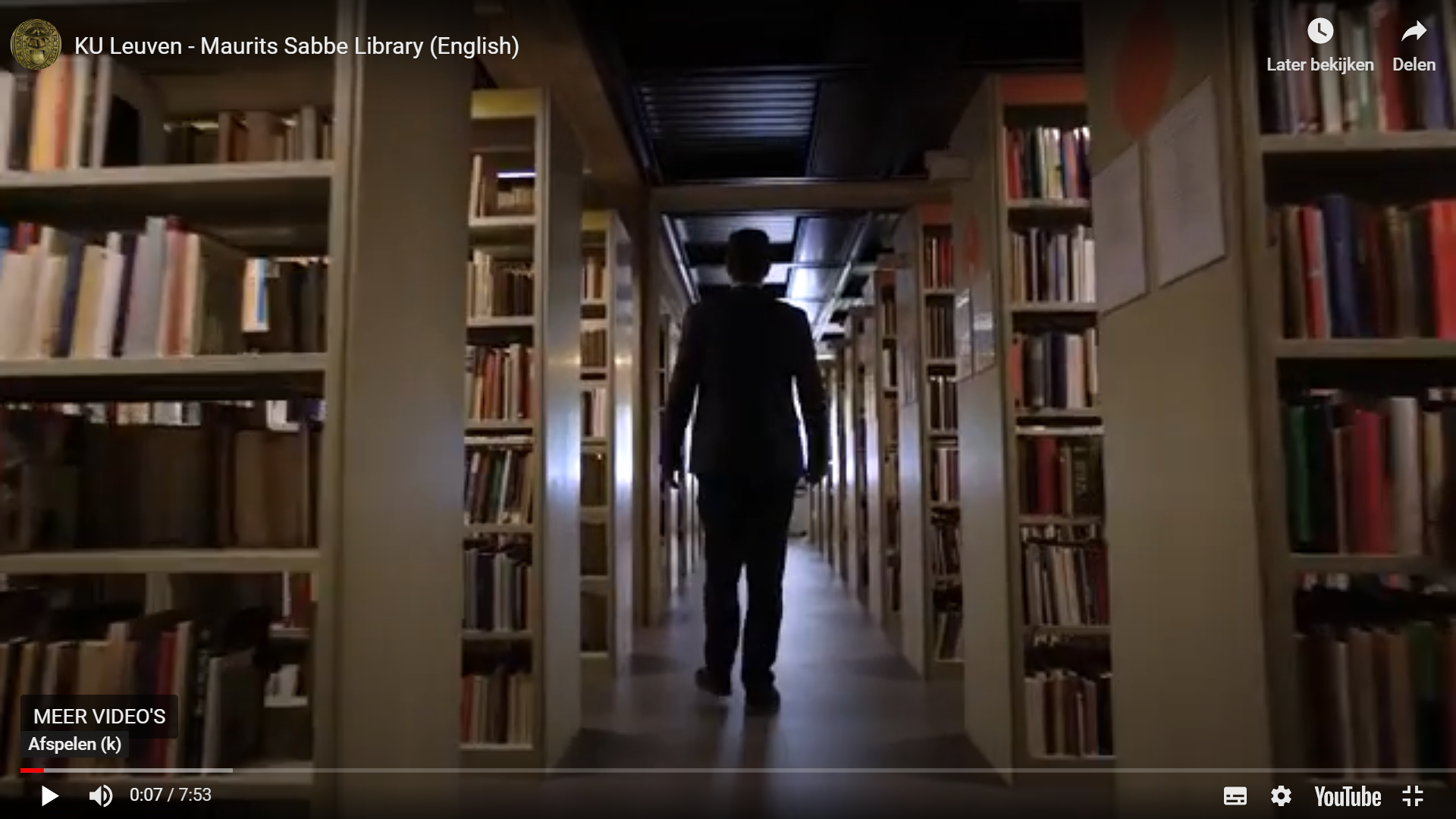 Maurits Sabbe Library Introduction Video