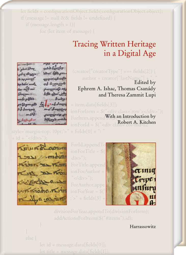 Tracing Written Heritage in a Digital Age